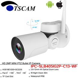 neue drahtlose kamera ip Rabatt Neue HD 1080P 2MP Kugel IP Kamera Pan Tilt Im Freien Wasserdichte IR PTZ Wireless Wifi Sicherheit Überwachungskamera Für Handy