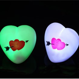 Wholesale Love Very - Led Love Light Very Beautiful And Lovely Little love Toy For Kids Adult Party Decoration Birthday Favor Gifts WX9-586