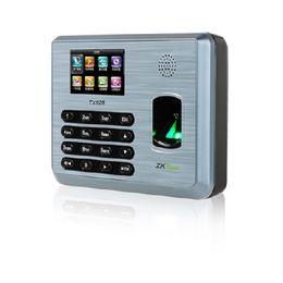Cartão on-line-Zkteco TX628 TCP / IP 125 K EM Cartão de Impressão Digital Comparecimento Do Tempo de impressão Digital relógio de ponto de Atendimento do Terminal de Atendimento