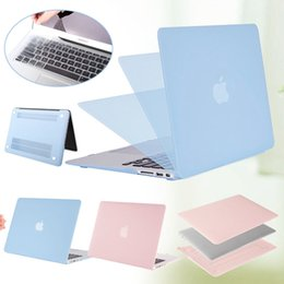 Wholesale rubberized laptop cases - Rubberized Hard Shell Case Cover+Keyboard Skin for MAC MacBook Air   Retina 13.3