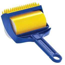 Réutilisable collant Buddy Picker Cleaner Lint Roller Pet Hair Remover Brush - Lint cheveux Brosse de nettoyage Rouleau Vêtements Outils de nettoyage ? partir de fabricateur