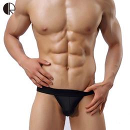 boxeadores g cuerdas Rebajas Verano nuevos hombres de moda Sexy Bikini Soft G String para hombres traje de baño 5 colores de la ropa interior gay envío gratis AU295