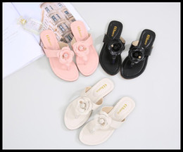 Wholesale Korean Fashion Slippers - The new slippers for the new slippers are sold in south Korean flat shoes with high quality flats with women's sandals.