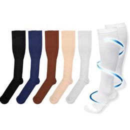 902f159782c02a Hot Miracle Anti Fatigue Compression Socks 6 Colors Women Men Anti-Fatigue  Magic Leg Warmers Slimming Socks Calf Support Relief socks