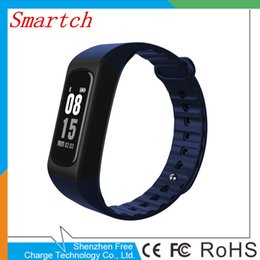 Wholesale Remote Alert - new W4S Smartband Sport Waterproof Smart Bracelet Support Pedometer Heart rate Body Temperature Message Call Alert Smart wristband