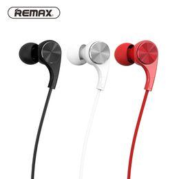 câbles remax Promotion REMAX Écouteurs intra-auriculaires colorés Hifi Écouteurs Quantité Câble Casques Mode Musique (RM 569)