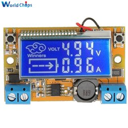 Wholesale Voltage Regulator Adjustable - Display DC-DC 5-23V To 0-16.5V 3A Max Step Down Power Supply Converter Adjustable LCD Step-down Voltage Regulator