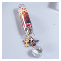 Comercio al por mayor de Alta Calidad 150 Unids Niños Adultos Creativo Educativo Mini Rompecabezas Conjunto con Botella Tubo Modelo Hermosa Venta Caliente desde fabricantes