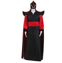 Aladdin Jafar Bösewicht Cosplay Kostüm Outfit voller Anzug von Fabrikanten