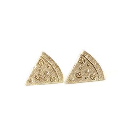 Wholesale Design Pizza - Fashion pizza stud earrings Interesting creative design pizza stud earrings Delicious food model stud earrings for women