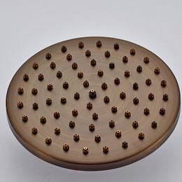 "Wholesale Shower Ceiling Mount - High-end Classic Good Quality Brass Antique 8"" Rain Bathroom Shower Replace Shower Head Ceiling Mount"