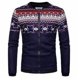 5938031ffaa Discount luxury bomber jacket - Fashion Print Jacket Men  s Embroidered  Baseball Jacket Leather