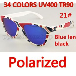 fb5a7f3109 Brand Sunglasses Designer Sunglasses Frog Polarized Sunglasses 9102 TR90  Picture Frame Sport Driving Glasses 34 Colors