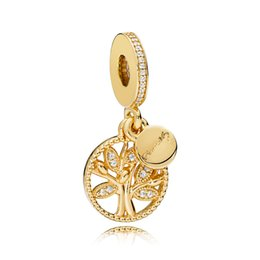 Wholesale glass cube clips - pandora shine ALE sunshine pendant safety chain Sweet As Honey gold plated charm clip 925 sterling silver