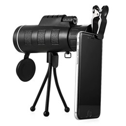 outdoor telescope monocular Coupons - Day and Night 40x60 HD Vision Handheld Optical Monocular Outdoor Telescope Camping Hunting Zoom With Compass Tripod Phone Clip