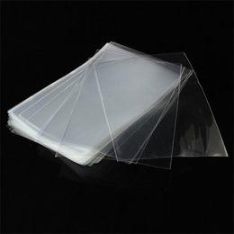 Эко-квадратные сумки онлайн-Opp плоский мешок упаковки прозрачный пластиковый пакет карманный пищевой леденец Эко дружественных безопасности сумки нетоксичные квадратной формы 1 42yh jj