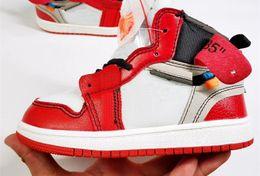 fd98a43ab4051 2019 chaussures nouveau-né bébé garçon Nike Air Jordan 1 2019 New High OG 1s