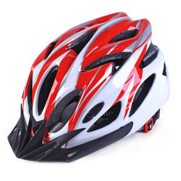 Capacetes de bicicleta de estrada super leve on-line-Ultra-leve 220g MTB Ciclismo Bicicleta Sports Safety Capacete de Bicicleta de Estrada Super Meia Montanha Mountain Bike In-mold Helmet