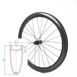 2019 rodas de estrada de carbono china Estrada cheia da fibra do carbono 700c falou a largura ultra clara 25mm grupo alto da roda de 38mm 50mm
