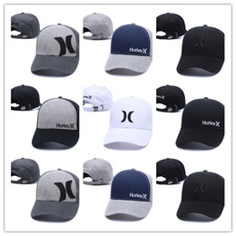 Wholesale Fitted Mesh Baseball Hats - Good Design new arrival Hurley mesh Baseball Caps Sports Bone Snapback Hats Hip Hop casquette gorras Adjustable