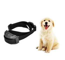 Wholesale Remote Electric Pet Training Collar - Dog Training Collar Anti Bark Electric No Shock for Pet Automatic Remote Control Plastic Adjustable Trainer Necklace
