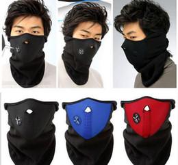 esqueletos plásticos halloween atacado Desconto Máscaras de Esqui Metade Rosto Tampa Do Chapéu Cap Vento Rolha de Inverno Máscara Facial Neck Warmer Motocicleta Máscaras À Prova de Vento de Esqui