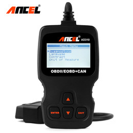 Vw può codici bus online-10 pz / lotto AD310 Auto OBDII OBD2 Engine Fault Code Reader Enhanced OBD 2 Protocolli EOBD Can bus Auto Scanner Diagnostico