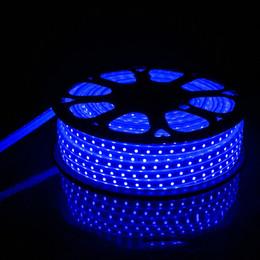Светодиодная трубка flex онлайн-Новое прибытие 2835 LED Flex Rope Light 120D IP65 ПВХ светодиодные полосы крытый / открытый Flex Tube диско-бар паб Рождественская вечеринка украшения