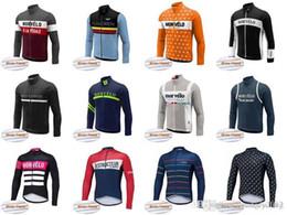 2019 équipement de cycle hivernal Équipe Morvelo Cyclisme Vélo Hiver Polaire Thermique Jersey 2018 Nouveautés Vélo Vitesse Élégant Simple Style Vélos Vêtements C2019 promotion équipement de cycle hivernal