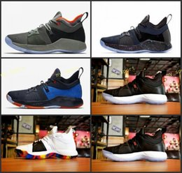 Wholesale Out Road - AAA+ Correct Lights UP PG 2 PlayStation Taurus All-Star OKC PS March Madness The Road Master Basketball Shoes Paul George II PG2 2s EUR 7-12