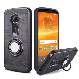 Couverture samsung grand neo en Ligne-Pour Samsung Galaxy Note 4 5 bord S6 plus grand neo J1 J2 J3 360 anneau KickStand double couche résistant couverture magnétique
