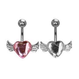 Canada 1 pièce mode femmes nombril anneaux corps boucles d'oreilles piercing nombril sexy en acier chirurgical pircing bijoux Offre