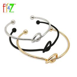 Wholesale Golden Silver Cuff Bangle Bracelet - whole sale2015 fashion golden silver black copper metal adjustable lucky twisted cuff bracelet & bangle for women pulseras de las mujeres