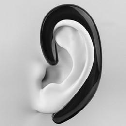 auriculares inalámbricos para sony móvil Rebajas Innovadores auriculares de estudio K8 con micrófono Inalámbrico Sin tapones para los oídos Auriculares de conducción ósea Auriculares coloridos para teléfonos móviles