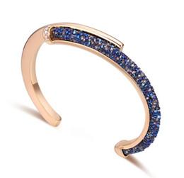 c5f004072e8c 2018 Nueva pulsera de brazalete de cristal brazaletes para la protección  del medio ambiente joyas de las mujeres accesorios de oro chapado en  aleación cheap ...
