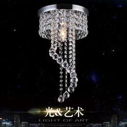 2019 lumières de l'église vintage Lustre moderne plafonnier boule de cristal luminaire suspendu lampe de plafond allée véranda lampe chambre salon plafond balcon lumières