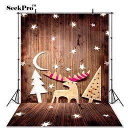 SeekPro Kinder Newborn Kinder Weihnachten Deer Foto Hintergrund Gedruckt indoor Studio Fotografischen Hintergründe S0007 von Fabrikanten