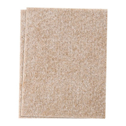 Wholesale Felt Sheets - Self-Stick Furniture Felt Sheet for Hard Surfaces to Cut into Any Shape (2 pack) Beige