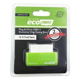 2019 scanner de voiture mahindra EcoOBD2 accordant la puce EcoOBD réduisant l'économie de consommation de carburant conduisant la benzine d'Eco OBD diesel