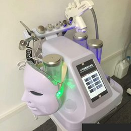 Wholesale professional skin care machines - 2018 new Powerful 8In1 Hydra Dermabrasion Machine Professional Hydro Microdermabrasion Facial Deep Cleaner Water Peel Skin Care Spa Machine