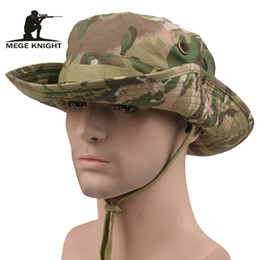 tappo del cecchino Sconti Tactical Airsoft Sniper Camouflage Boonie  Cappelli Nepalese Cap Militares Army Mens Accessori 2d1c50621d12