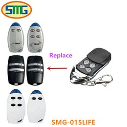 Wholesale gate opener remotes - 3piece free shipping 433.92mhz gate Life remote control replacement for gate opener good quality