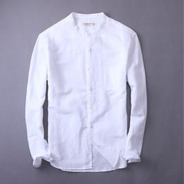 c0ed67e3cb09 2019 camicie di lino qualità Le nuove camice di tela di svago di alta qualità  2018