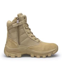 f7c49a1c31df Hommes Haut Haut Imperméable Bottes de Randonnée Combat Chaussures pour  Hommes Vache En Cuir Suede Athlétique Trekking Sports Botte de Neige En Plein  Air ...