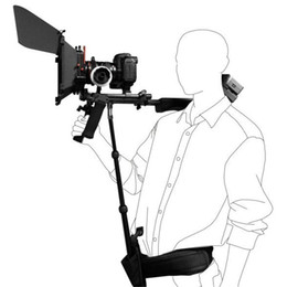 2019 dslr kameragurt DSLR Rig Support Rod / Gürtel passen Schulter Mount Video Camcorder Kamera DV / DSLR neue Action Kamera Zubehör rabatt dslr kameragurt