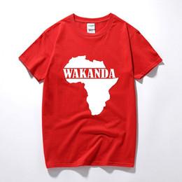 Argentina Panteras negras Wakanda África Mapa Impreso Camiseta Hombres Chico Película Hipster Camisetas Gráficas Divertidas Siempre Animado Camiseta Camisetas Divertidas supplier movie maps Suministro