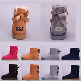 2b61105f582525 2019 billige blaue stiefeletten UGG boots Neue Frauen WGG Australia Classic  Schnee Boots Schuhe Stiefeletten halbe