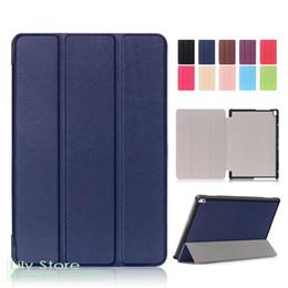Wholesale Lenovo Tablet Skin - For Lenovo Tab 4 10 plus PU Leather Case Cover 10'' Stand Skin for Lenovo TAB 4 10 Plus TB-X704N TB-X704F Smart Tablet PC Fundas