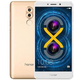 """Huawei 5.5 32gb en Ligne-Téléphone portable d'origine Huawei Honor 6X Play 4G LTE 4 Go de RAM 32 Go 64 Go de mémoire Kirin655 Octa Core Android 5.5 """"12MP d'empreinte digitale Smart Phone Mobile"""