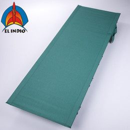 Wholesale grey green bedding - EL INDIO Foldable Ultralight Compact Camping Cot Bed with 350 Lbs Bearing Breathable Waterproof Bed Surface, Perfect for Base Camp, Hiking a